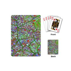 Fantasy City Maps 2 Playing Cards (Mini)