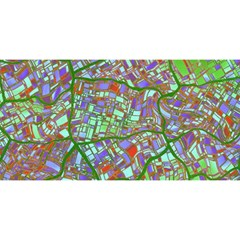 Fantasy City Maps 2 You Are Invited 3d Greeting Card (8x4)