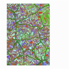 Fantasy City Maps 2 Small Garden Flag (Two Sides)
