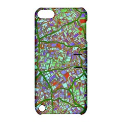 Fantasy City Maps 2 Apple iPod Touch 5 Hardshell Case with Stand