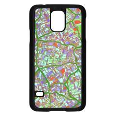 Fantasy City Maps 2 Samsung Galaxy S5 Case (Black)