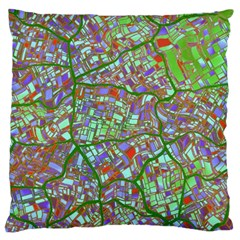 Fantasy City Maps 2 Standard Flano Cushion Cases (Two Sides)