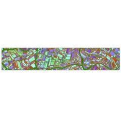 Fantasy City Maps 2 Flano Scarf (large)
