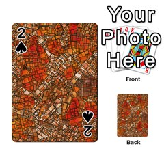 Fantasy City Maps 3 Playing Cards 54 Designs