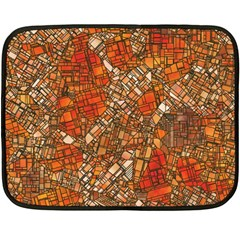 Fantasy City Maps 3 Fleece Blanket (mini)