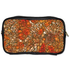 Fantasy City Maps 3 Toiletries Bags 2-Side