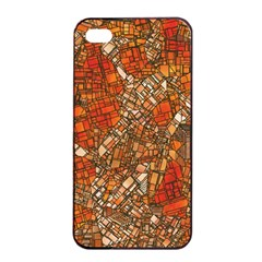 Fantasy City Maps 3 Apple Iphone 4/4s Seamless Case (black)