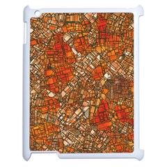 Fantasy City Maps 3 Apple iPad 2 Case (White)