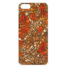 Fantasy City Maps 3 Apple iPhone 5 Seamless Case (White)