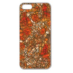 Fantasy City Maps 3 Apple Seamless iPhone 5 Case (Clear)