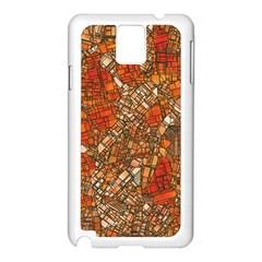 Fantasy City Maps 3 Samsung Galaxy Note 3 N9005 Case (White)