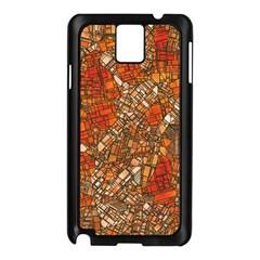 Fantasy City Maps 3 Samsung Galaxy Note 3 N9005 Case (Black)