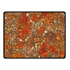 Fantasy City Maps 3 Double Sided Fleece Blanket (Small)