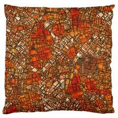Fantasy City Maps 3 Standard Flano Cushion Cases (One Side)