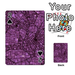 Fantasy City Maps 4 Playing Cards 54 Designs