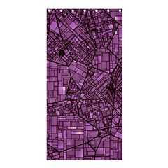 Fantasy City Maps 4 Shower Curtain 36  x 72  (Stall)