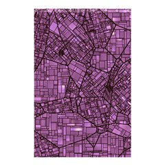 Fantasy City Maps 4 Shower Curtain 48  X 72  (small)