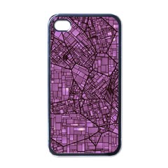 Fantasy City Maps 4 Apple iPhone 4 Case (Black)