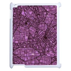 Fantasy City Maps 4 Apple iPad 2 Case (White)