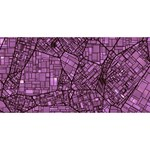 Fantasy City Maps 4 YOU ARE INVITED 3D Greeting Card (8x4)  Back