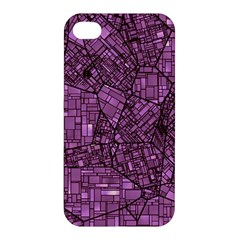 Fantasy City Maps 4 Apple iPhone 4/4S Hardshell Case