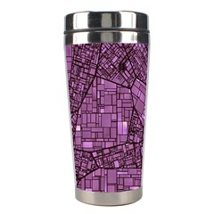 Fantasy City Maps 4 Stainless Steel Travel Tumblers