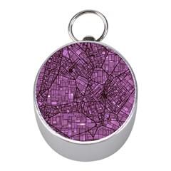 Fantasy City Maps 4 Mini Silver Compasses