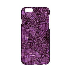 Fantasy City Maps 4 Apple iPhone 6/6S Hardshell Case