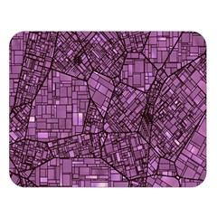 Fantasy City Maps 4 Double Sided Flano Blanket (large)