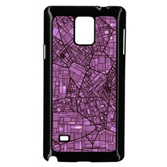Fantasy City Maps 4 Samsung Galaxy Note 4 Case (Black)