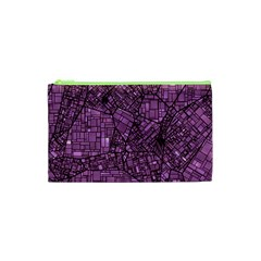 Fantasy City Maps 4 Cosmetic Bag (XS)
