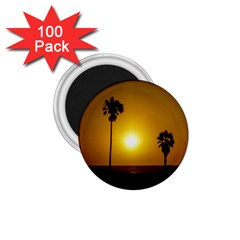 Sunset Scene at the Coast of Montevideo Uruguay 1.75  Magnets (100 pack)
