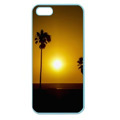 Sunset Scene at the Coast of Montevideo Uruguay Apple Seamless iPhone 5 Case (Color)