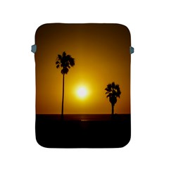 Sunset Scene at the Coast of Montevideo Uruguay Apple iPad 2/3/4 Protective Soft Cases