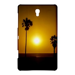 Sunset Scene At The Coast Of Montevideo Uruguay Samsung Galaxy Tab S (8 4 ) Hardshell Case