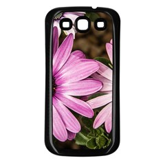 Beautiful Colourful African Daisies  Samsung Galaxy S3 Back Case (Black)