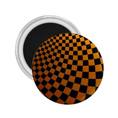 Abstract Square Checkers  2 25  Magnets