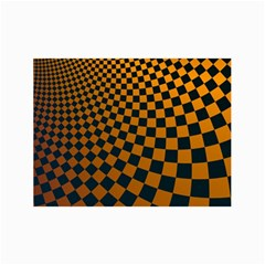 Abstract Square Checkers  Collage 12  X 18