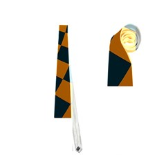 Abstract Square Checkers  Neckties (two Side)