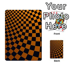 Abstract Square Checkers  Multi-purpose Cards (Rectangle)