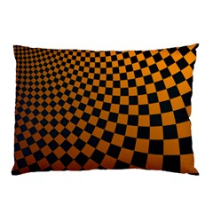 Abstract Square Checkers  Pillow Cases