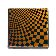 Abstract Square Checkers  Memory Card Reader (square)