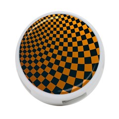 Abstract Square Checkers  4 Port Usb Hub (one Side)