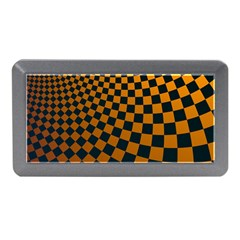 Abstract Square Checkers  Memory Card Reader (Mini)