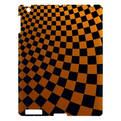 Abstract Square Checkers  Apple Ipad 3/4 Hardshell Case