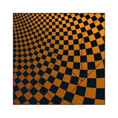 Abstract Square Checkers  Acrylic Tangram Puzzle (6  x 6 )
