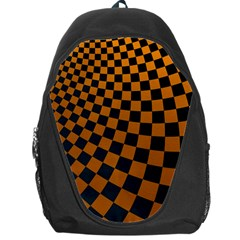 Abstract Square Checkers  Backpack Bag