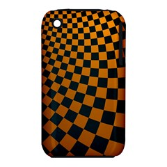 Abstract Square Checkers  Apple Iphone 3g/3gs Hardshell Case (pc+silicone)