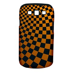 Abstract Square Checkers  Samsung Galaxy S III Classic Hardshell Case (PC+Silicone)
