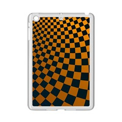 Abstract Square Checkers  iPad Mini 2 Enamel Coated Cases